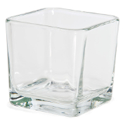 Libbey 5475 Cube Votive Candle Holder 14 oz.