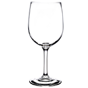 Libbey 8573SR Bristol Valley Sheer Rim 13 oz. White Wine Glass