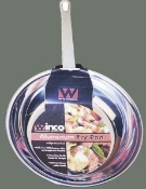 "12"" Aluminum Fry Pan, Mirror Finish"