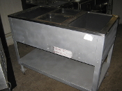 Used Duke 3 Hole Steam Table