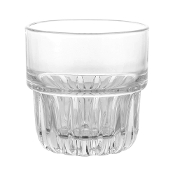 Libbey Everest Stackable Rocks Glass, 8 oz, per piece