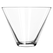 Libbey 224 13 1/2 oz. Stemless Martini Glass