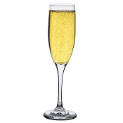 Libbey 3796 Fizzazz 6 oz. Embassy Tall Flute Glass