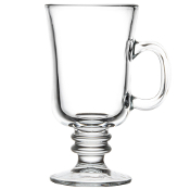 Libbey 5295 8.5 oz. Irish Glass Coffee Mug