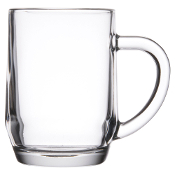 Libbey 5724 10 oz. Glass Coffee Mug