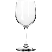Libbey 8564SR Bristol Valley Sheer Rim 8.5 oz. White Wine Glass