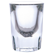 Libbey 5126 2 oz. Fluted Whiskey / Shot Glass