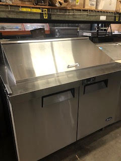 ATOSA Two Door Mega Top Sandwich Prep